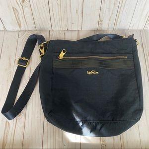 Kipling navy blue crossbody travel bag purse
